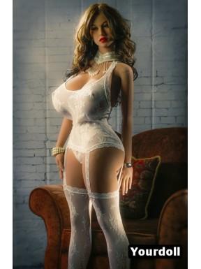 Poupée sexuelle TPE Gisèle - 160cm