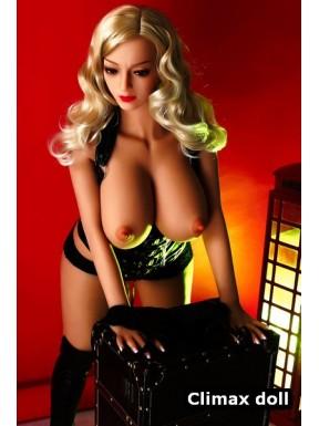 Femme ronde Love doll TPE Elaa - 160cm