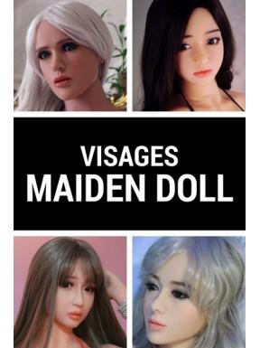 Tête en TPE - Maiden doll