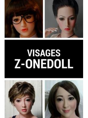 Tête poupée silicone Z-ONEDOLL