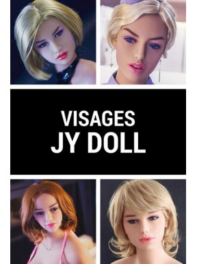 Tête sex doll en TPE JY DOLL