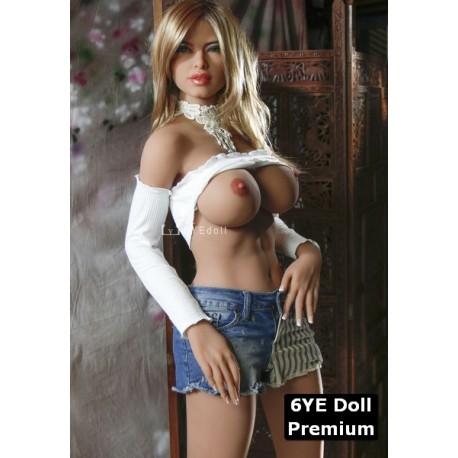 Real doll sexy moulée en TPE Premium - Dalila - 165cm