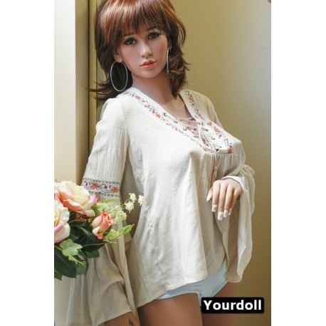Femme Poupée réaliste de qualité - Aki - 155cm