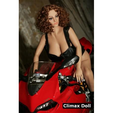 Charmante bikeuse aux grosses fesses - Yolanda - 155cm