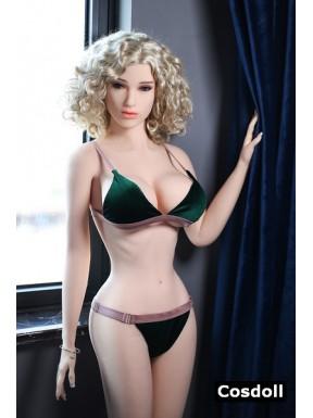 La jolie blonde - Poupée sexuelle réaliste - Abbie - 165cm