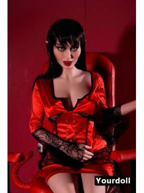 La femme vampire - Poupée elfique grandeur nature - 148cm