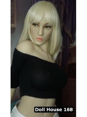 La blonde platine - Poupée sexuelle réaliste - Rebecca - 161cm