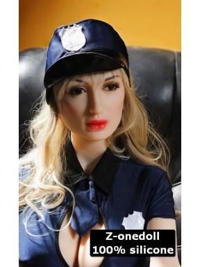 Autoritaire et sexy - Poupée sensuelle en silicone - Samantha - 158cm