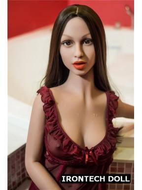 Mannequin vitrine ultra réaliste en TPE - Anna - 155cm