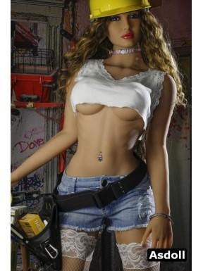 Poupée de femme quasi humaine en TPE - Gloria - 170cm