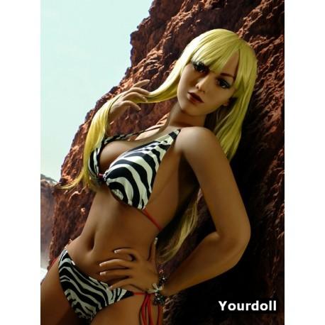 La plagiste topless en TPE - Kasandra - 165cm