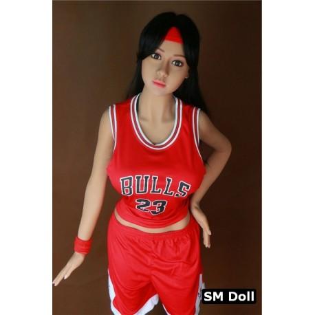 Poupée sexuelle bronzée léger SM Doll - Vicki - 150cm