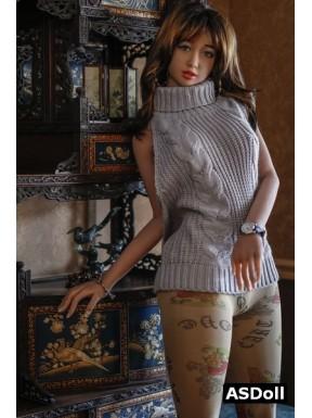 Poupée réaliste d'amour en TPE - Leelou - 168cm