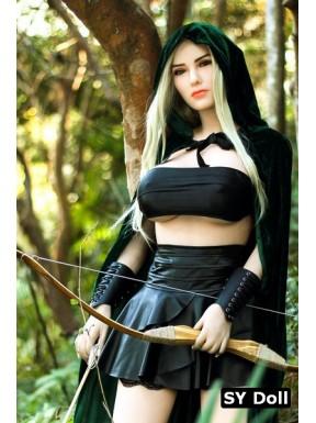 Sex doll ultra réaliste aux oreilles d'elfe - Shym - 165cm G-CUP