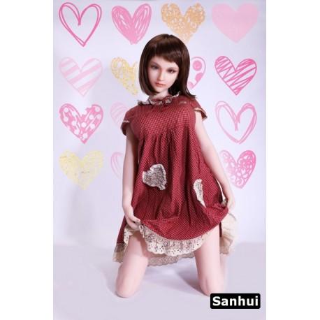 Sex doll Sanhui en silicone - Eloise - 145cm