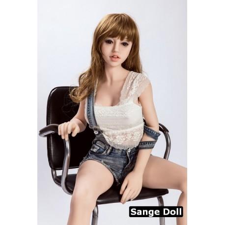 Sange Doll moulée en TPE - Perrie - 165cm