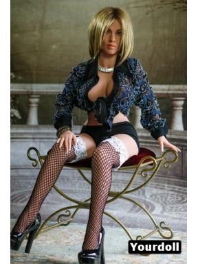 Poupée sexuelle en TPE Heidi- 135cm