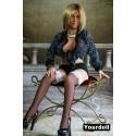 Poupée sexuelle en TPE Heidi - 135cm