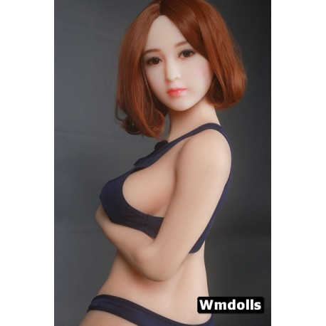 Petite sex doll en TPE Agnes - 145 cm