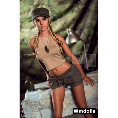 L'aventurière Wm doll Bonnet C en TPE - Larah - 166cm