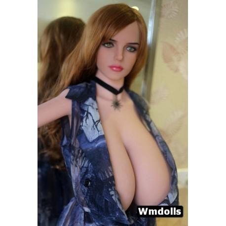 Real Doll (Poitrine XXXL) en TPE Julie - 165cm