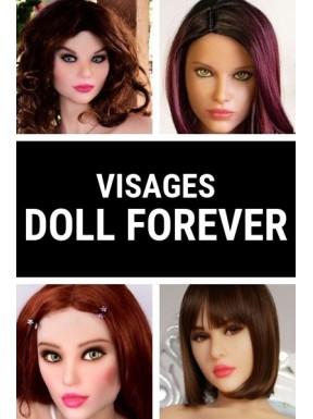 Visage en TPE Doll Forever