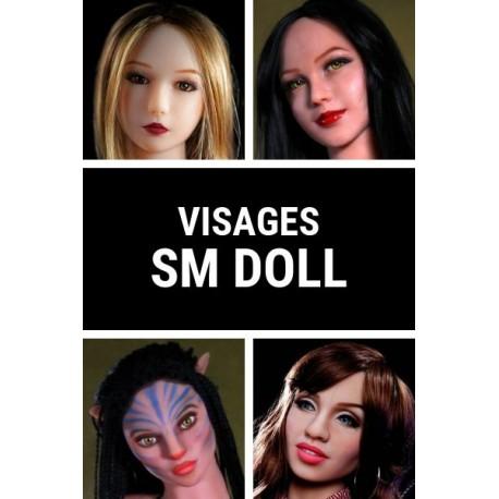 Visage SM Doll en TPE