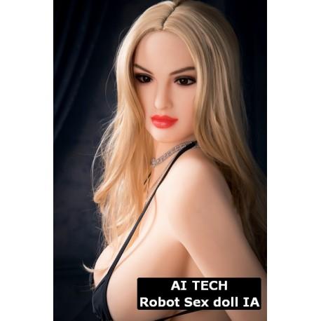 AI Tech Femme Réaliste Poupée Robot - Isiris - 167cm