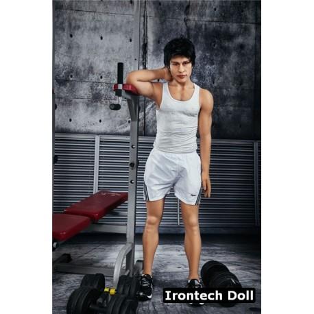 Homme Love Doll Sportif en TPE - Charles - 162cm