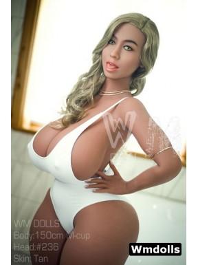 WMDoll Blonde en bikini - Theresa - 150cm M-CUP