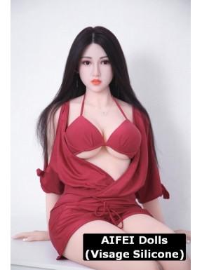 Poupée pour adulte en lingerie rouge - Nisa - 165cm