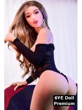 6YE Premium Sex doll bouche ouverte - Gaxia - 158cm
