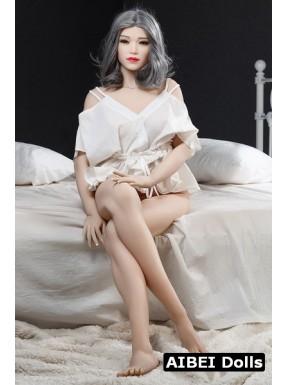 Femme aux cheveux grisonnants AIBEI Dolls - Marinette - 165cm