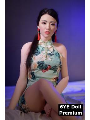 6YE Doll Premium avec visage en silicone - Marjolaine - 165cm