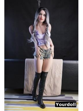 YLDoll sex doll mince en TPE - Gina - 151cm