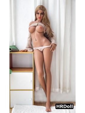Poupée érotique HR Doll moulée en TPE - Catalina - 165cm