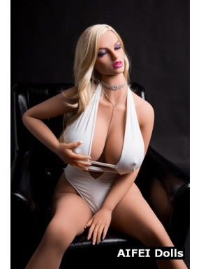 Doll blonde aux yeux fermés AFDoll - Morphée - 170cm