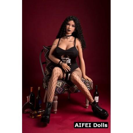 Sex doll aux lèvres noires AFDoll - Kimy - 170cm
