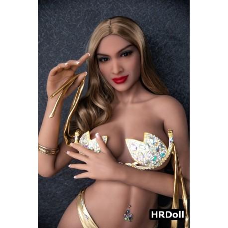 Sexy doll HRDoll moulée en TPE - Rose - 165cm