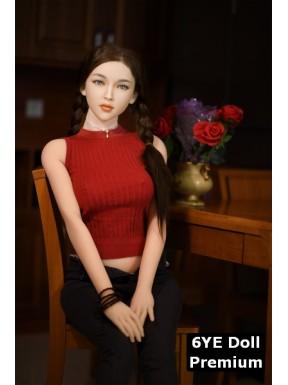 Mannequin 6YE Premium (visage silicone) - Jodie - 170cm C-CUP