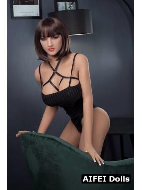 AF Doll en body noir - Géraldine - 168cm