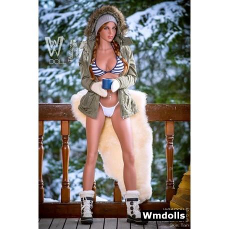 Charmante doll coiffée avec des couettes - Sonya - 172cm D-CUP