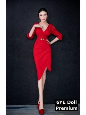 6YE Sex Doll Premium (visage silicone) - Titania - 170cm C-CUP
