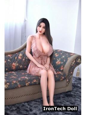 Mannequin érotique à forte poitrine IronTechDoll - Jennifer - 163cm Plus