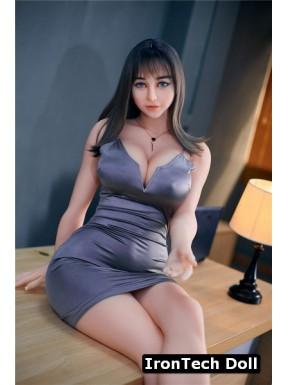 Doll châtain aux yeux bleus IronTechDoll - Miki - 161cm