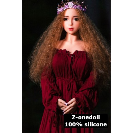 Mini sex doll en silicone - Eve - 120cm