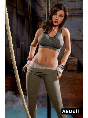 Prof de Fitness moulée en TPE - Manuella - 161cm