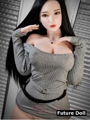 Jolie poupée Doll en silicone - Erity - 163cm F-CUP