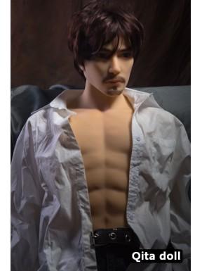 Buste sexuel réaliste Homme - Shu - 88cm