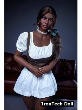 Black RealDoll africaine IronTechDoll - Rebecca - 164cm Plus